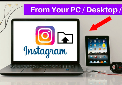 How To Post On Instagram From Desktop Computer