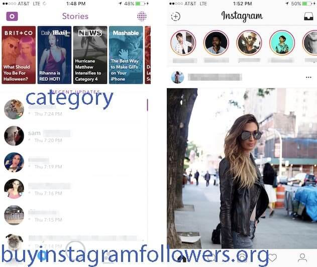 Instagram Explore Page Category Design