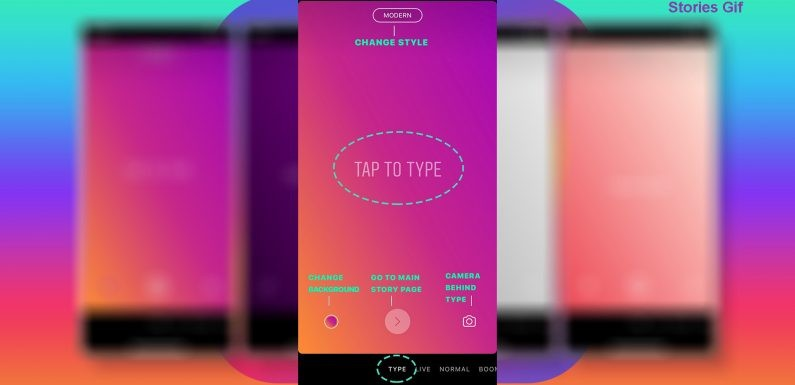 Stories Gif Option Available on Instagram Stories