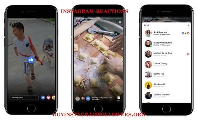 Instagram Reactions