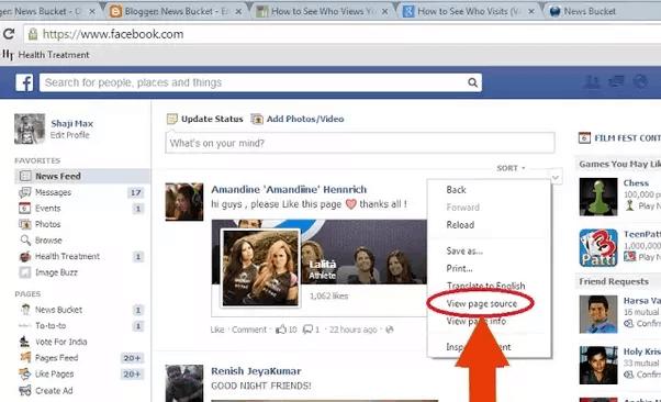 Facebook Profile Visitors - 1