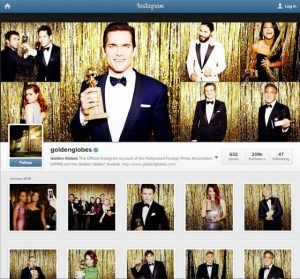 Golden Globe & Instagram – The Growing Emphasis On Visual Content Marketing