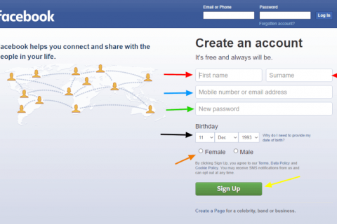 How-to: Facebook Account Registration (Updated – 2020)