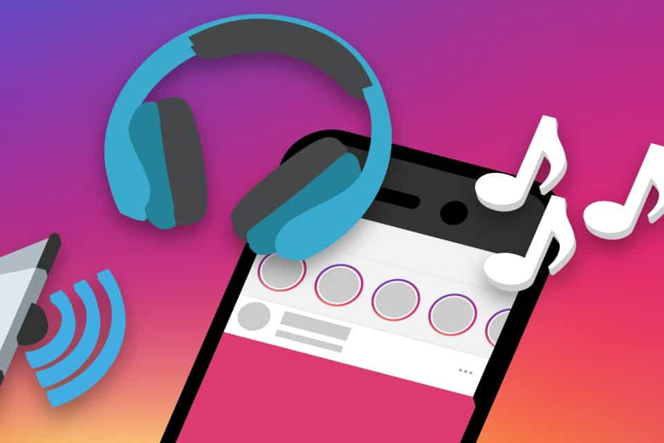 how to add a song on Instagram Stories