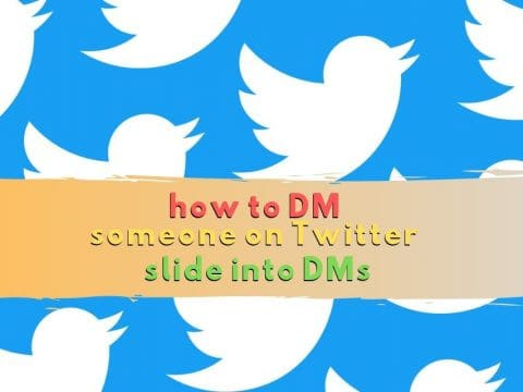 How to DM Someone on Twitter: Slide into DMs