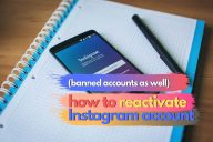 Reactivate an Instagram Account (Banned Accounts As Well!)