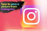 Save a Picture from Instagram: In 6 Steps (Why You Should!)