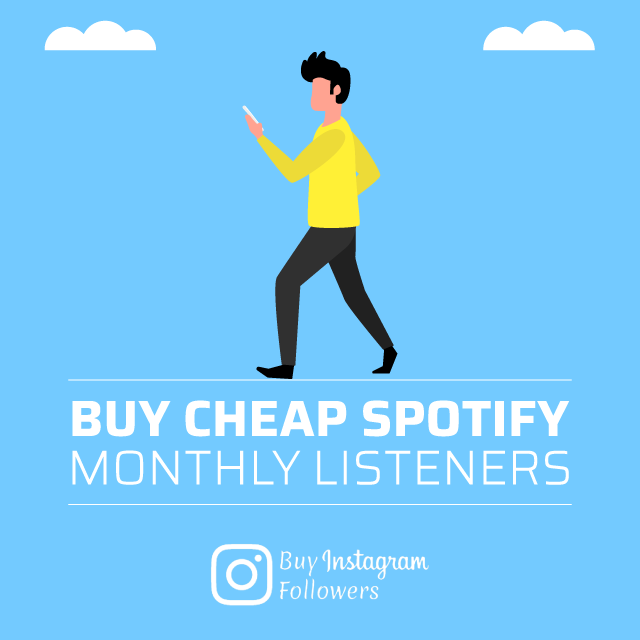 buy cheap spotify monthly listeners