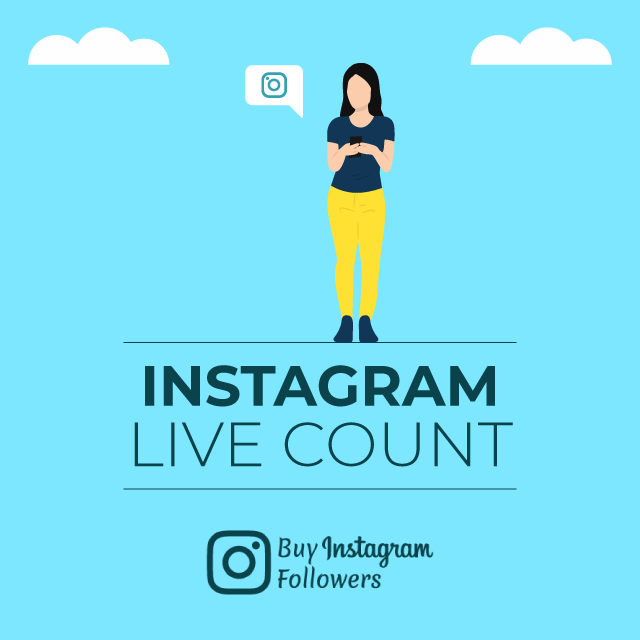 Instagram Live Count