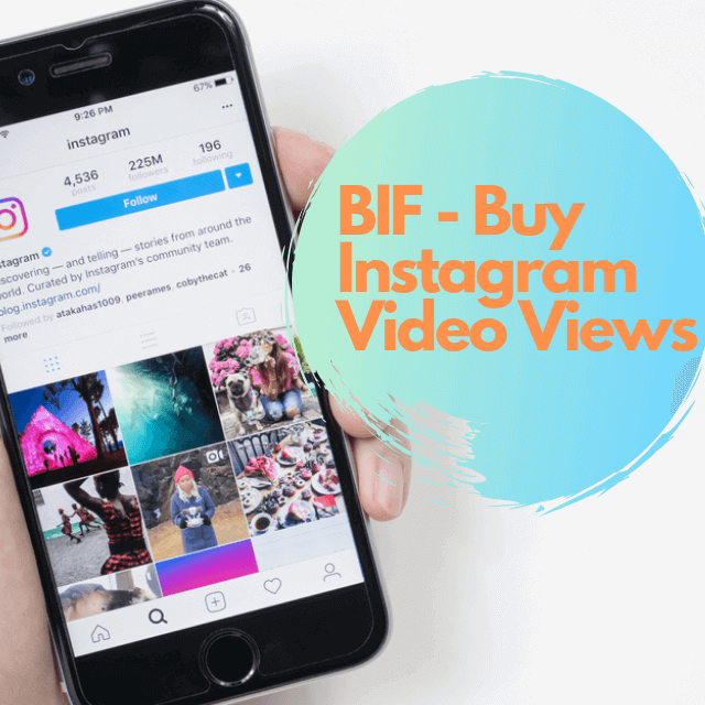 Buy Instagram Views Paypal: 100% Real - Video Views » BIF