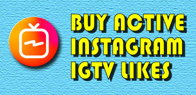 buy active Instagram Igtv likes