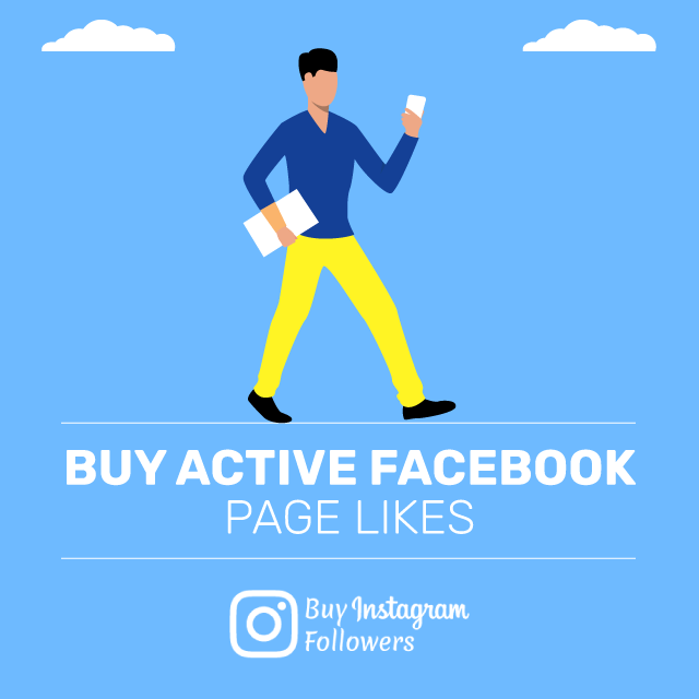 Buy Active Facebook Page Likes
