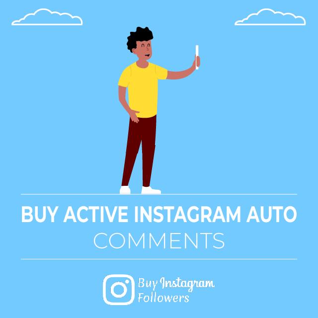 Buy Active Instagram Auto Comments