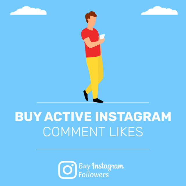 Buy Active Instagram Comment Likes