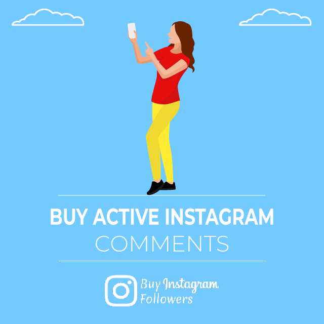 Buy Active Instagram Comments