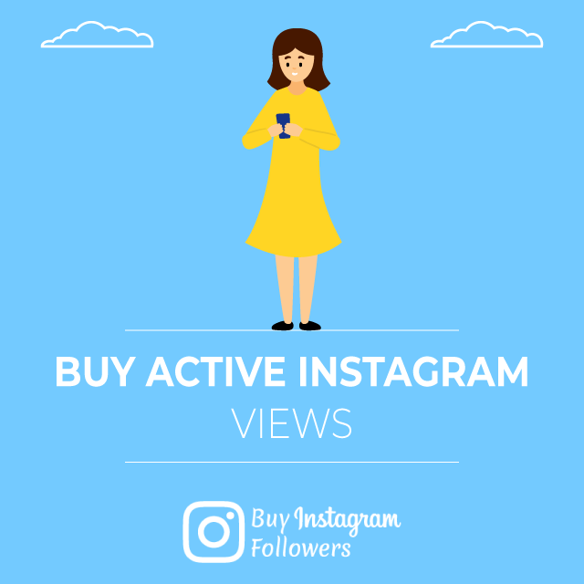 Buy Active Instagram Views