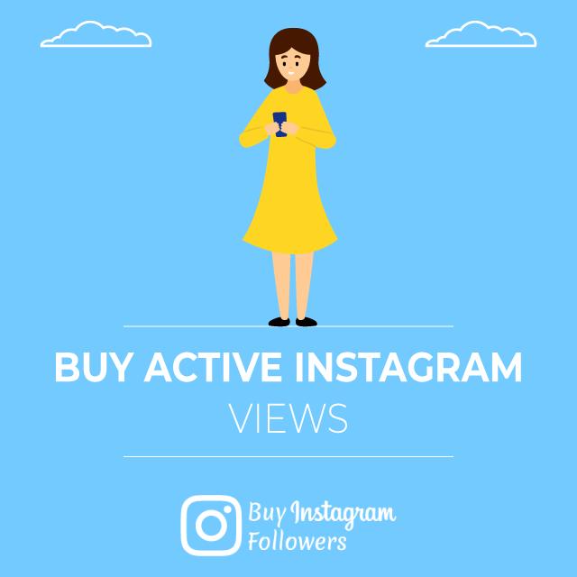 Buy Active Instagram Views