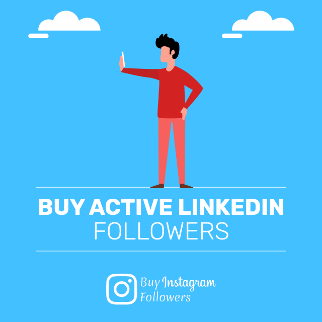 buy active linkedin followers