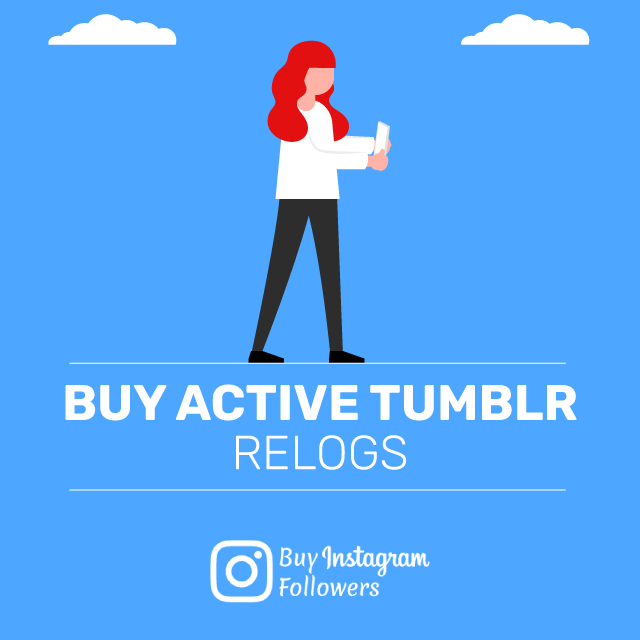 Buy Active Tumblr Relogs
