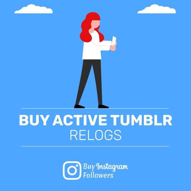 Buy Active Tumblr Relogs