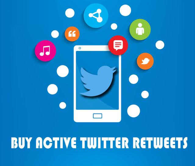buy active twitter retweets
