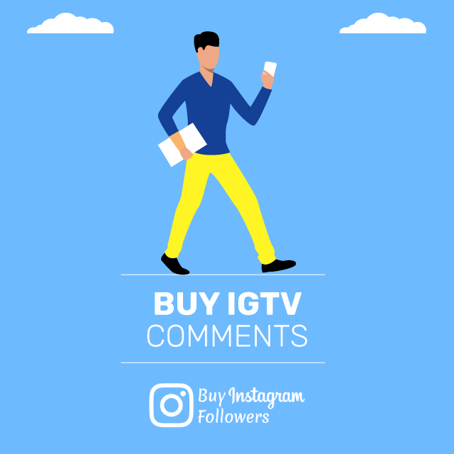 Buy IGTV Comments Paypal: 100% Real - Active & Cheap » BIF
