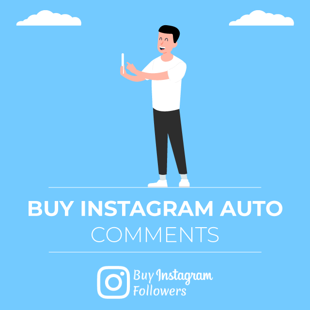 Buy Instagram Auto Comments PayPal: 100% Real - Active & Cheap » BIF