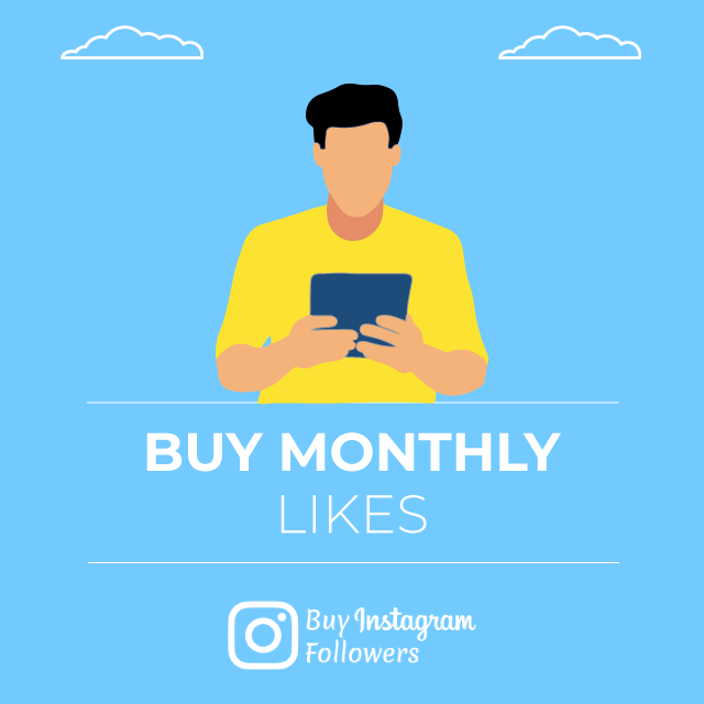 Buy Instagram Monthly Likes PayPal: 100% Real - Active & Cheap » BIF