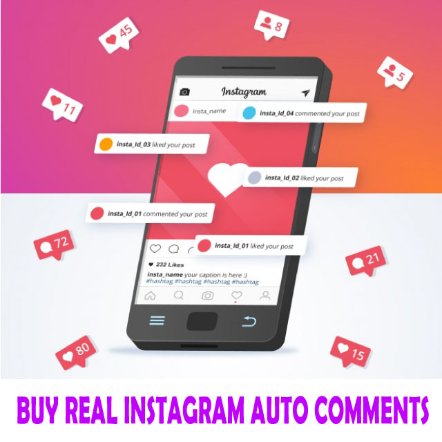 buy real Instagram auto comments