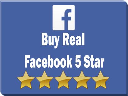buy real facebook 5 star