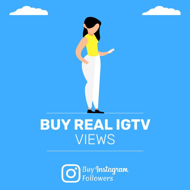 Buy Real Igtv Views