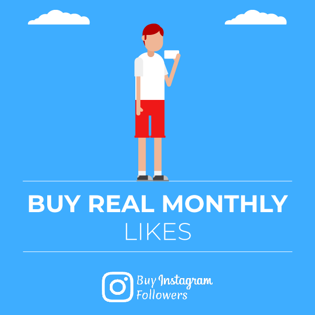 Buy Real Instagram Monthly Likes