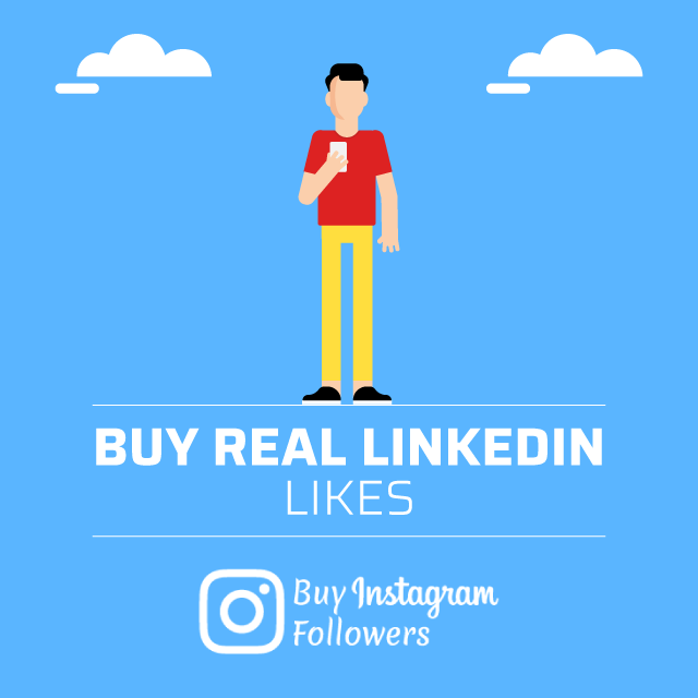 buy real linkedin likes