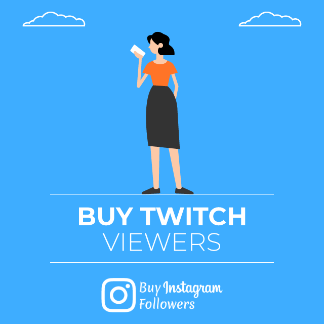 Buy Twitch Viewers - 100% Real & Secure