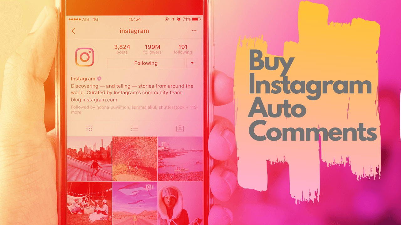 Buy Instagram Auto-Comments