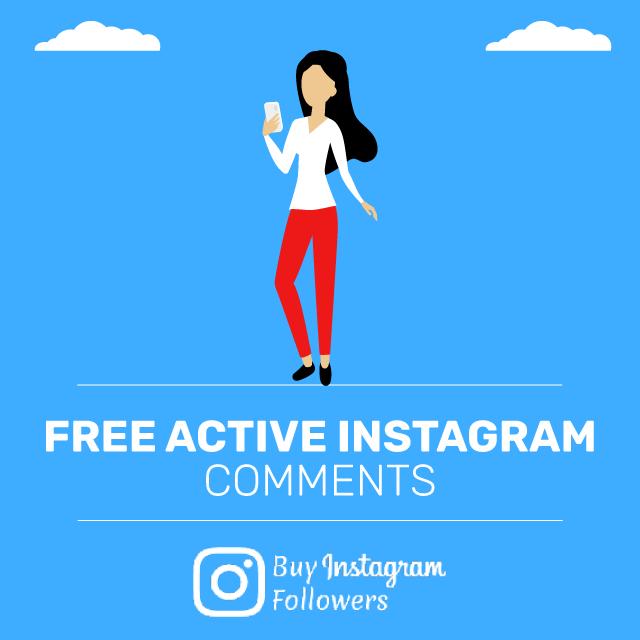 Free ActiveInstagram Comments
