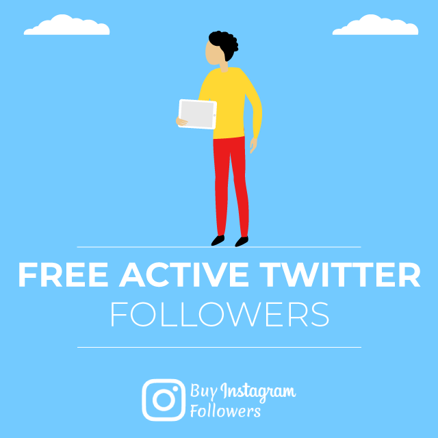 Free Active Twitter Followers