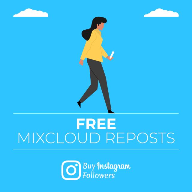 free mixcloud reposts