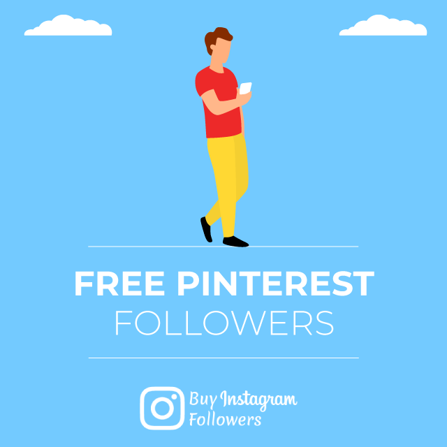 Free Pinterest Followers [ No password - Instantly ]