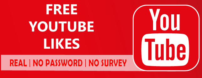 Get Free Youtube Likes [ No password - Instantly ]