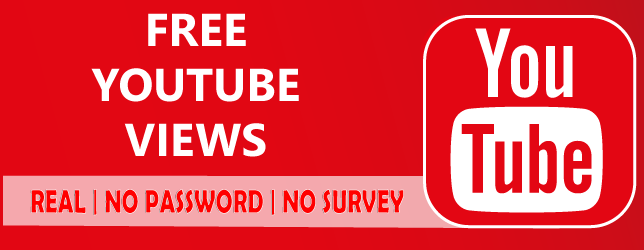 Free Youtube Views [ No password - Instantly ] Real!