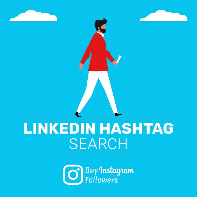 linkedin hashtag search
